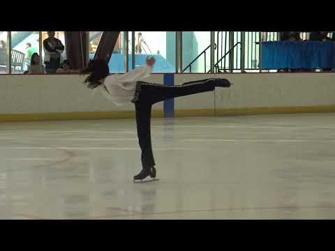 "Julian Chan - Figure Skater - 3 rd place in ""Skate San Francisco"" USFS Competition"
