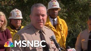 Officials Detail Fatal Santa Clarita School Shooting | Katy Tur | MSNBC