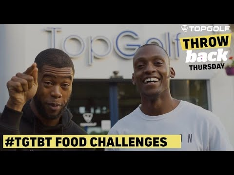 Topgolf TBT Food Challenges: Harvey Don v Rayman Beats
