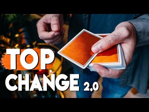 The BEST Top Change Method? (Card Magic Tutorial)