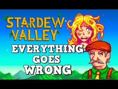 The WORST Possible Start in Stardew Valley