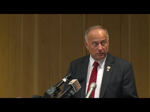 Rep. Steve King lashes out at protester during heated forum