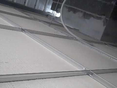 Instalación oficinas bizkaia (Como se montan techos tecnicos)