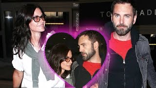 Courtney Cox And Johnny McDaid Take Another Trip, But Still No Wedding