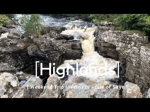 Weekend trip to Inverness, Isle of Skye day trip