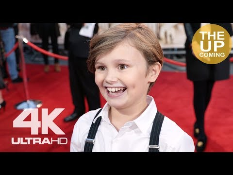 Goodbye Christopher Robin: Will Tilston interview at the premiere in London