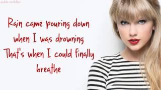 Taylor Swift - Clean (Lyrics)