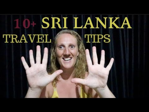 19 Sri Lanka Travel Tips: KNOW BEFORE YOU GO