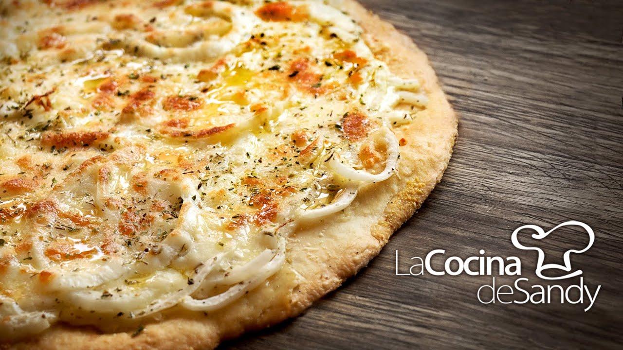 Como Hacer Pizza Casera De Cebolla Y Masa Para Pizzas