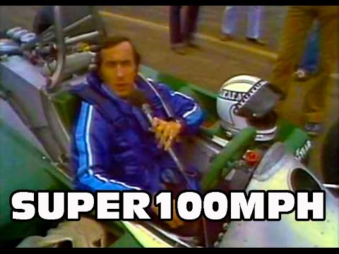 Jackie Stewart Checks Out Alan Jones
