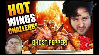 GHOST PEPPER! WING CHALLENGE! With UNCLE ANDY!