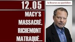 La Bourse au Quotidien - Macy's massacré, Richemont matraqué ...