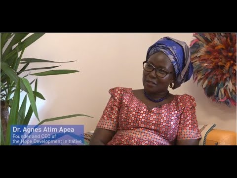 """The Story of """"Mama Rice"""" and Hope Development Initiative - Yunus Social Business"""