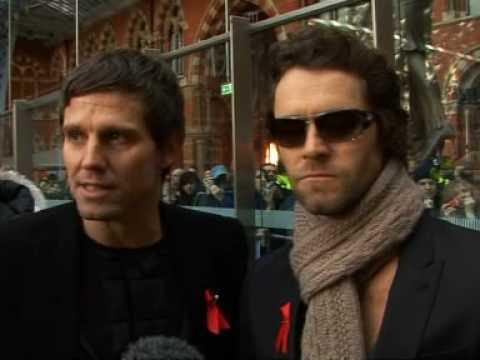 Take That launch new album The Circus on Eurostar