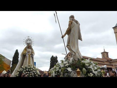 Procesión De Cristo Resucitado De Guadalajara Semana Santa 2019