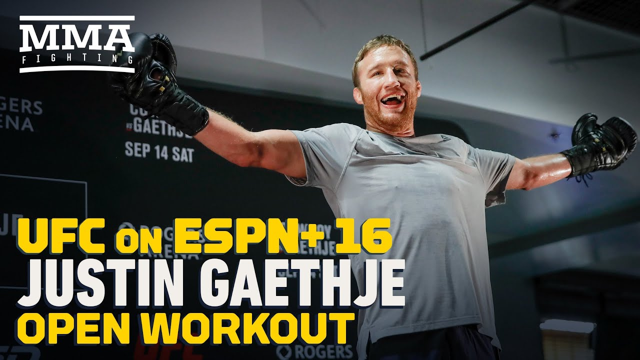UFC Vancouver: Justin Gaethje Open Workout Highlights - MMA Fighting