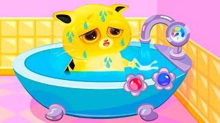 Суровый КОТИК БУБУ #53. Салон красоты. Спа ванная для Игрули. Мультик ИГРА про котят на Игрули TV