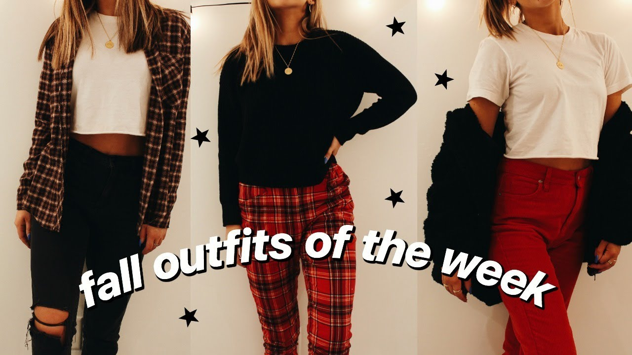 [VIDEO] - fall outfits of the week | savannah miller 8