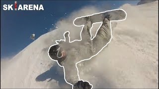 SNOWBOARDERS vs SKIERS #3 fights, crashes and angry people