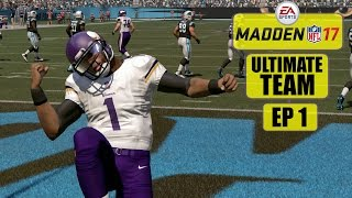 Madden NFL 17: Ultimate Team with Team SGU - EP1 (Creation, Picking Stars, And More)
