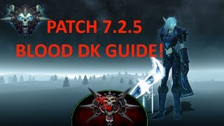 7.3 BLOOD DEATH KNIGHT GUIDE!!(NEW)