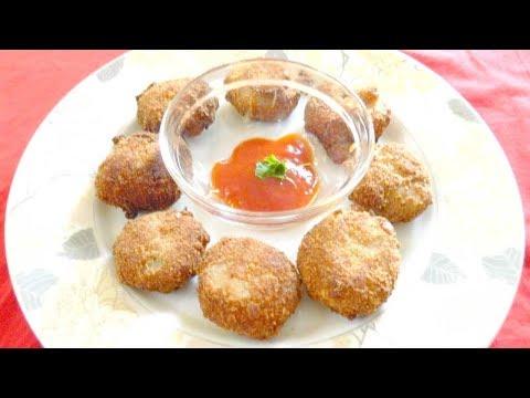 Crispy Chicken Ball | Deep fried chicken balls recipe