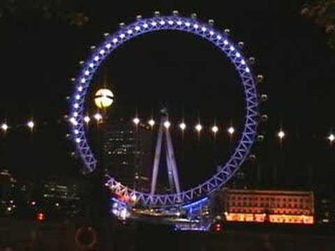 Video Postcard. LONDON EYE - pc26.