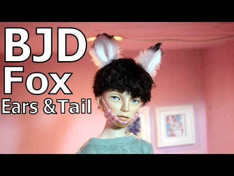 [BJD] Fox Ears & Tail DIY