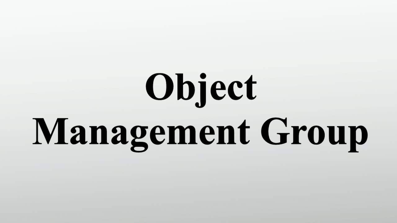 Object Management Group - YouT...