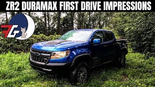 Colorado ZR2 Diesel Duramax | First Impressions From a First Time Truck Buyer