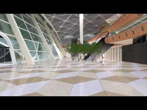 Heydar Aliyev International Airport Baku New Terminal