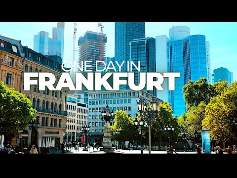 ONE DAY IN FRANKFURT * Time lapse walk through an amazing city * Enjoy!