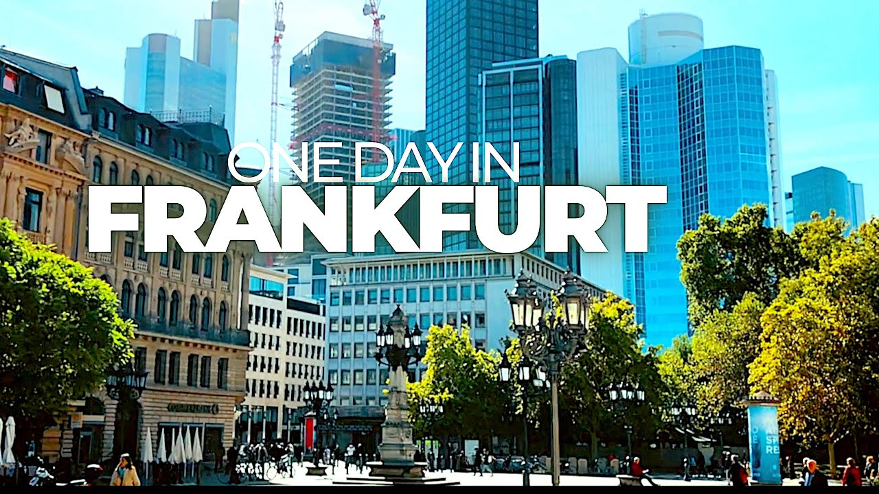 ONE DAY IN FRANKFURT (GERMANY) | Time lapse walk through an amazing city | Enjoy!