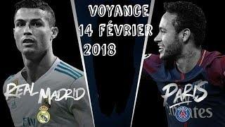 Gagnant  PSG vs REAL MADRID 14 février REAL GAGNANT