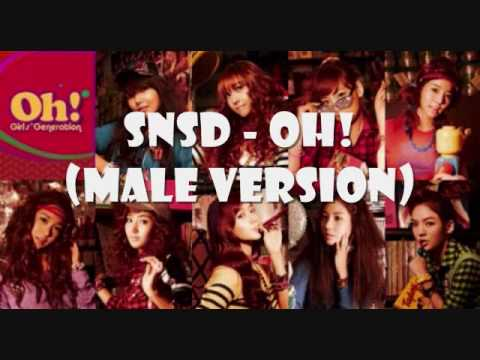SNSD - Oh (Male Version) + Romanization