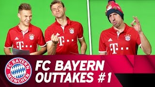 FC Bayern Christmas Song | Outtakes #1