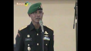 DANREM 101/ANTASARI NAIK PANGKAT MENJADI BRIGJEN TNI