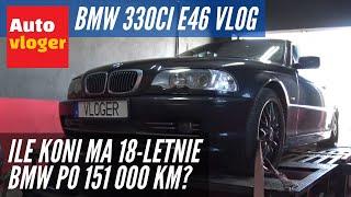 Ile koni mechanicznych uciekło z 18 letniego BMW 330Ci E46? Hamownia