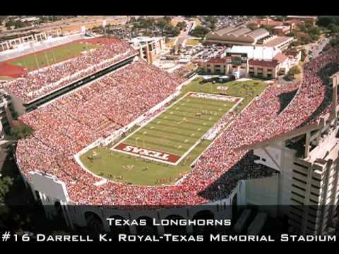 Top 30 College Football Stadiums - YouTube