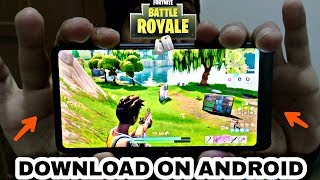 Fortnite Mobile Android - BETA - comment télécharger fortnite mobile android - Fortnite Battle Royal APK