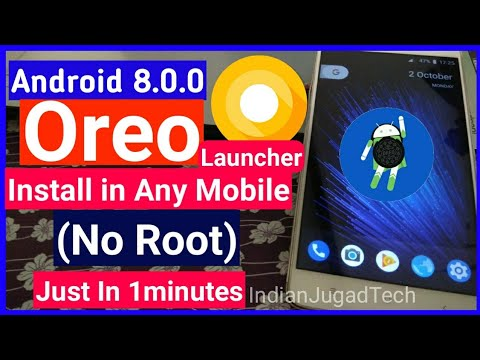 How To Get Android Oreo On Any Android Phone (Launcher) | Android Oreo 8.0.0