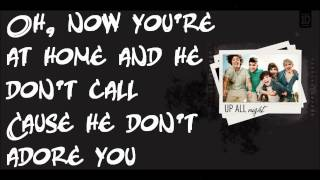 One Direction - Save You Tonight (Lyrics On Screen) HD
