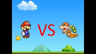 trungbui Roblox Paper Plumbers Roleplay Mario Vs Bowser.