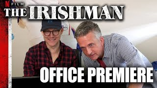 'The Irishman' Trailer Reaction | Office Premieres | The Ringer