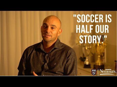 "Coach Fabio Silva: ""Soccer is half our story"""