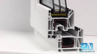 видео Пластиковые окна Kbe Expert 70