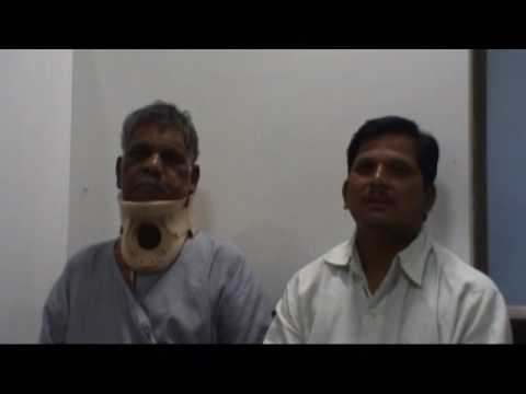 Neck Pain Surgery in Pune | Patient Testimonial | Dr.Avneesh Gupte
