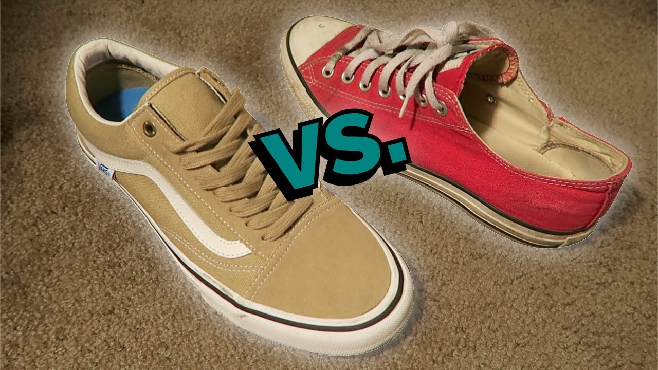 e524d041964 VANS SKATE SHOES vs CONVERSE SKATE SHOES - YouTube