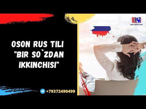 Oson Rus Tili