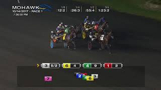 Mohawk, Sbred, October 14, 2017 Race 1